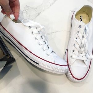 • Converse • White Sneakers - LIKE NEW